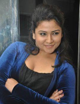 Jyothi in Black Dress Photoshoot Stills