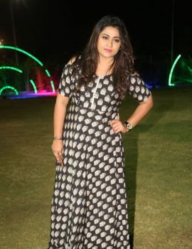Telugu Actress Jyothi at Balakrishnudu Movie Audio Release Function