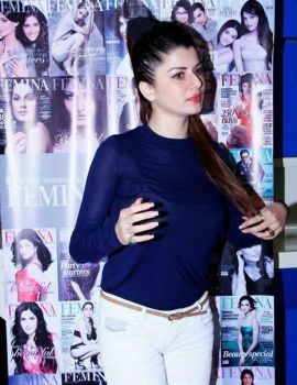 Kainaat Arora at Femina Festive Showcase