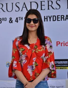 Kajal Agarwal Launches 5th Biennial Cancer Crusaders Invitation Cup