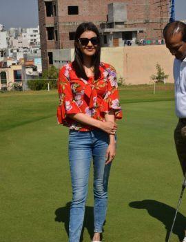 Kajal Agarwal Launches 5th Biennial Cancer Crusaders Invitation Cup