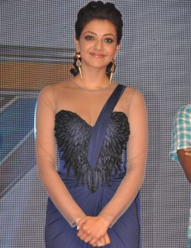 Kajal Agarwal Stills at Jayasurya Movie Audio Release