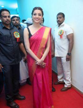 Kajal Aggarwal at Nene Raju Nene Mantri Pre Release Function