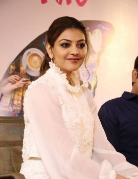 Kajal Aggarwal at Paris Paris Tamil Movie Launch