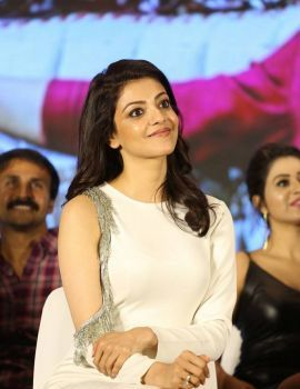 Kajal Aggarwal MLA Movie Success Meet Stills
