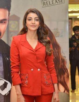 Kajal Aggarwal stills at Kavacham movie Teaser Launch