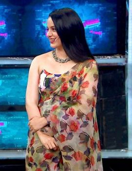 Kangana Ranaut in Saree On the Sets of Bigg Boss 13