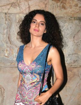 Kangana Ranaut Photos at Rajjo Movie Special Screening