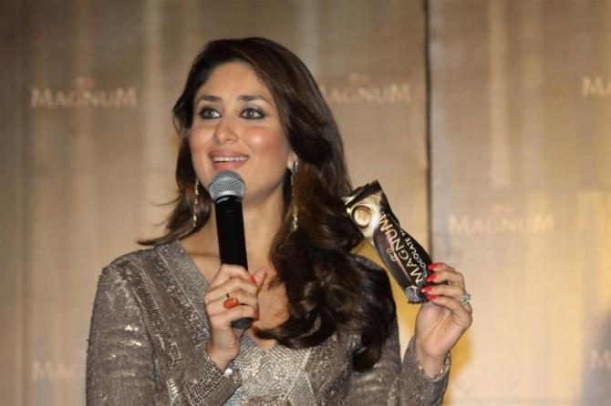 Kareena Kapoor at Magnum Chocolate Ice Cream Launch