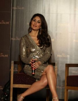 Kareena Kapoor at Magnum Chocolate Ice Cream Launch