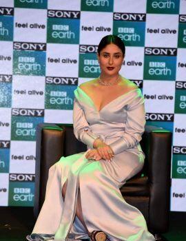 Kareena Kapoor in White Dress at 2017 From Sony BBC Earth