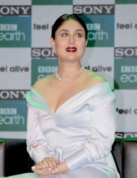 Kareena Kapoor in White Dress at 2017 From Sony BBC Earth
