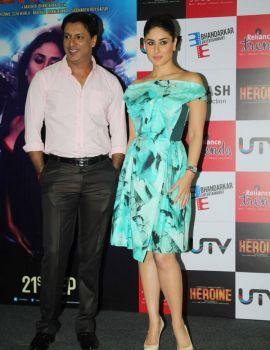 Kareena Kapoor Stills in Heroine Movie Promotion