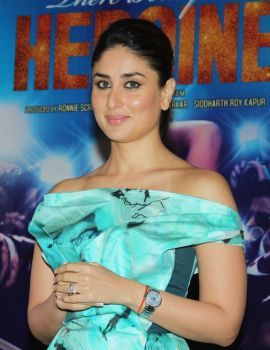 Kareena Kapoor Stills in Heroine Movie Promotion