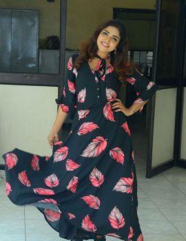 Karunya Chowdary at 3 Monkeys Movie Press Meet