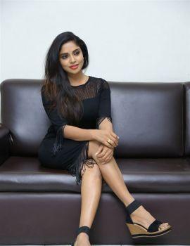 Karunya Chowdary Stills at Idho Prema Lokam Audio Launch