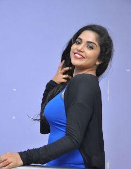 Karunya Chowdary Stills at Seetha Ramuni Kosam First Look Launch