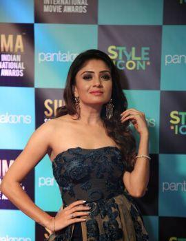 Kannada actress Karunya Ram Stills at SIIMA 2019 Held at Doha