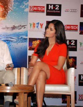 Bollywood Actress Katrina Kaif Hot Thigh Show Stills