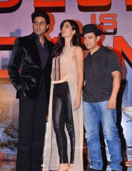 Katrina Kaif at Dhoom 3 Press Conference