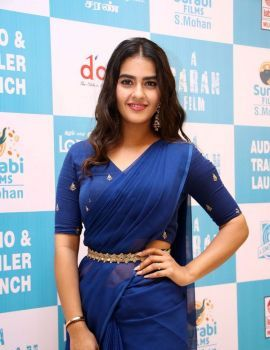 Kavya Thapar Stills at Market Raja MBBS Movie Audio Launch