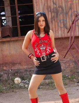 Keerthi Chawla Hot Stills from Telugu Movie Sadhyam