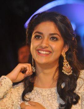 Keerthy Suresh Stills at Rail Movie Audio Launch