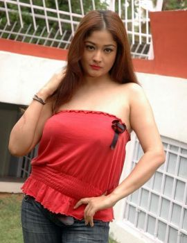 Tamil Actress Kiran Rathod Hot in Red Dress