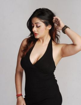 Tamil Actress Kiran Rathod Photoshoot Stills in Black Dress