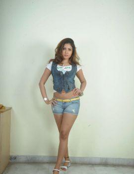Glamorous Telugu Heroine Komal Jha Trendy Looking Photoshoot Stills