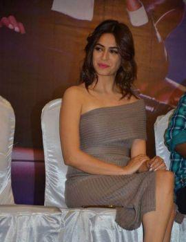Kriti Kharbanda Stills at Bruce Lee Tamil Movie Press Meet