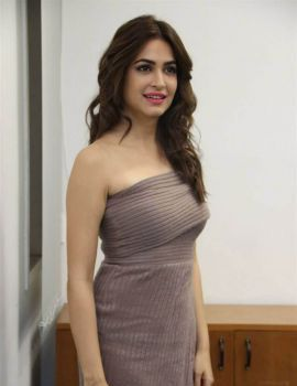Kriti Kharbanda Stills at Bruce Lee Tamil Movie Press Meet