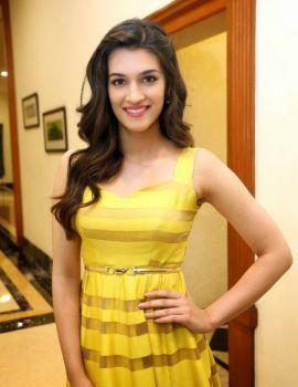 Telugu Actress Kriti Sanon in Dochay Movie Audio Launch