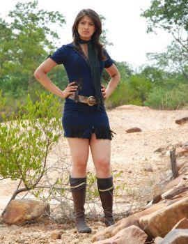 Lakshmi Rai Exposing Her Milky Thighs