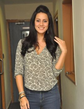 Larissa Bonesi Photos at Thikka Movie Event at Big FM 92.7 Station