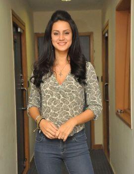 Larissa Bonesi Photos at Thikka Movie Event at Big FM 92.7 Station