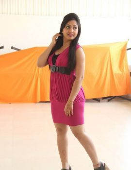 Maadhavi Latha in Pink Dress Stills