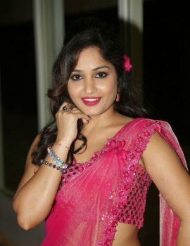 Madhavi Latha Photos at Mosagallaku Mosagadu Audio Launch