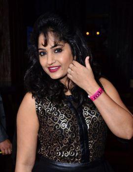 Telugu Actress Madhavi Latha Stills at Celebridge.in Launch