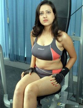 Madalasa Sharma Hot and Spicy Photos in Gym