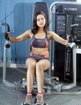 Madalasa Sharma Hot and Spicy Photos in Gym