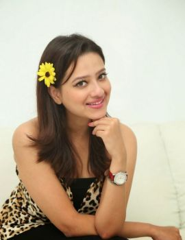 Madalsa Sharma Stills at Ramleela 2015 Movie Interview