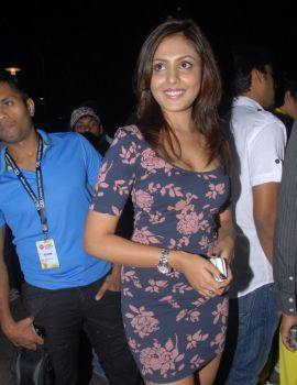 Madhu Shalini at CCL 2012 Calendar Launch in HICC Hyderabad