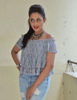 Madhu Shalini at the Cheekati Rajyam Press Meet