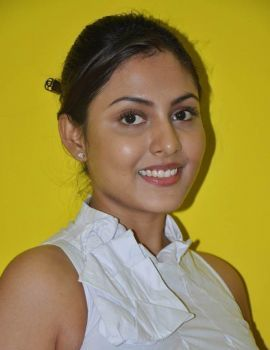 Madhu Shalini made her debut in Kannada film Naagavalli