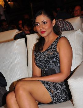 Madhu Shalini Stills at DK Bose Telugu Movie Music Launch