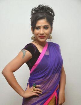 Madhulagna Das Stills in Telugu Movie Gate Audio Launch