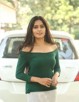 Madhumitha Krishna Stills at E Ee Movie Trailer Launch