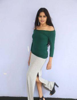Madhumitha Krishna Stills at E Ee Movie Trailer Launch