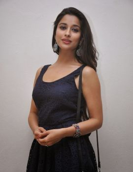 Madhurima in Sleeveless Dress at Veta Platinum Disc Event